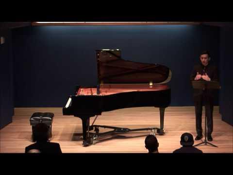 Luke Berryman performs Morton Feldman's 'Triadic Memories'