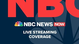 Nbc news now is live, reporting breaking and developing stories in real time. we are on the scene, covering most important of day ta...