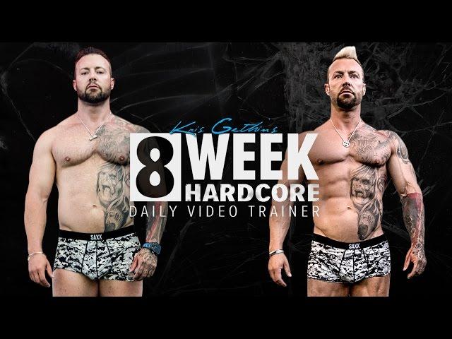 Kris Gethin's 8-Week Hardcore Training Program | Trailer
