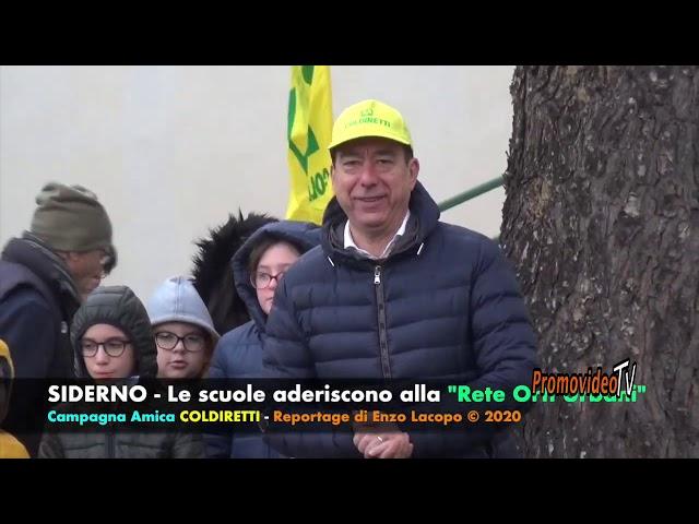 Siderno(RC)- Adesione Scuole Campagna 'Orti Urbani'