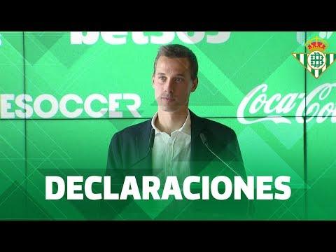 Las lágrimas de Canales en su renovación con el Real Betis 😢🔝