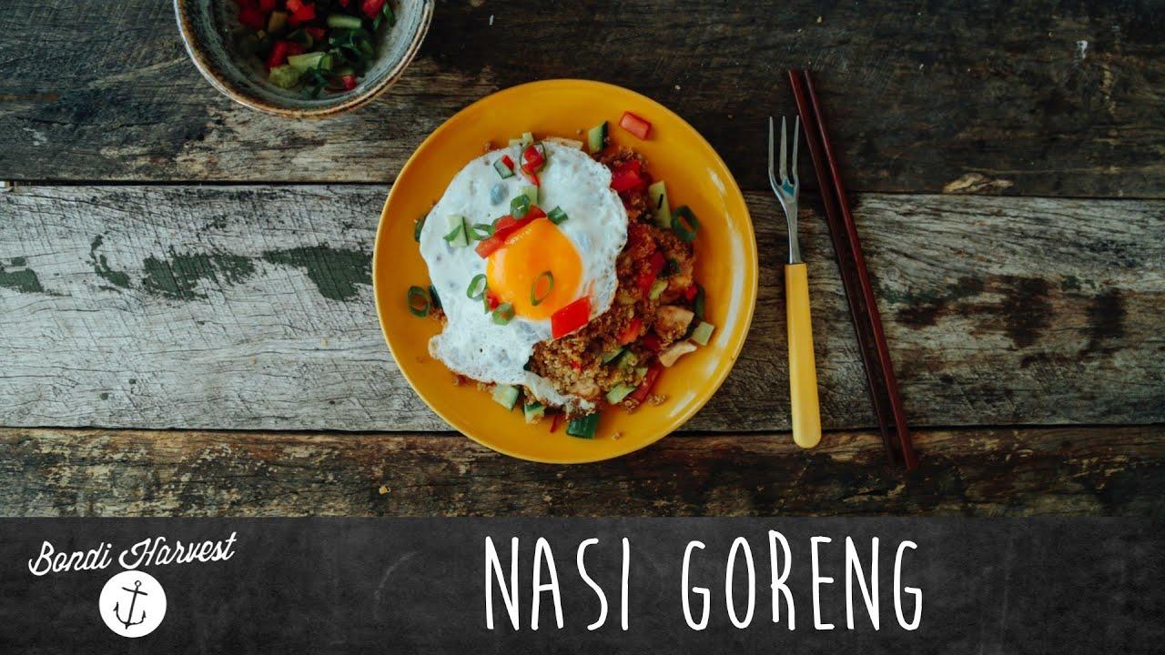 How to make Nasi Goreng (Bondi Harvest style) - YouTube