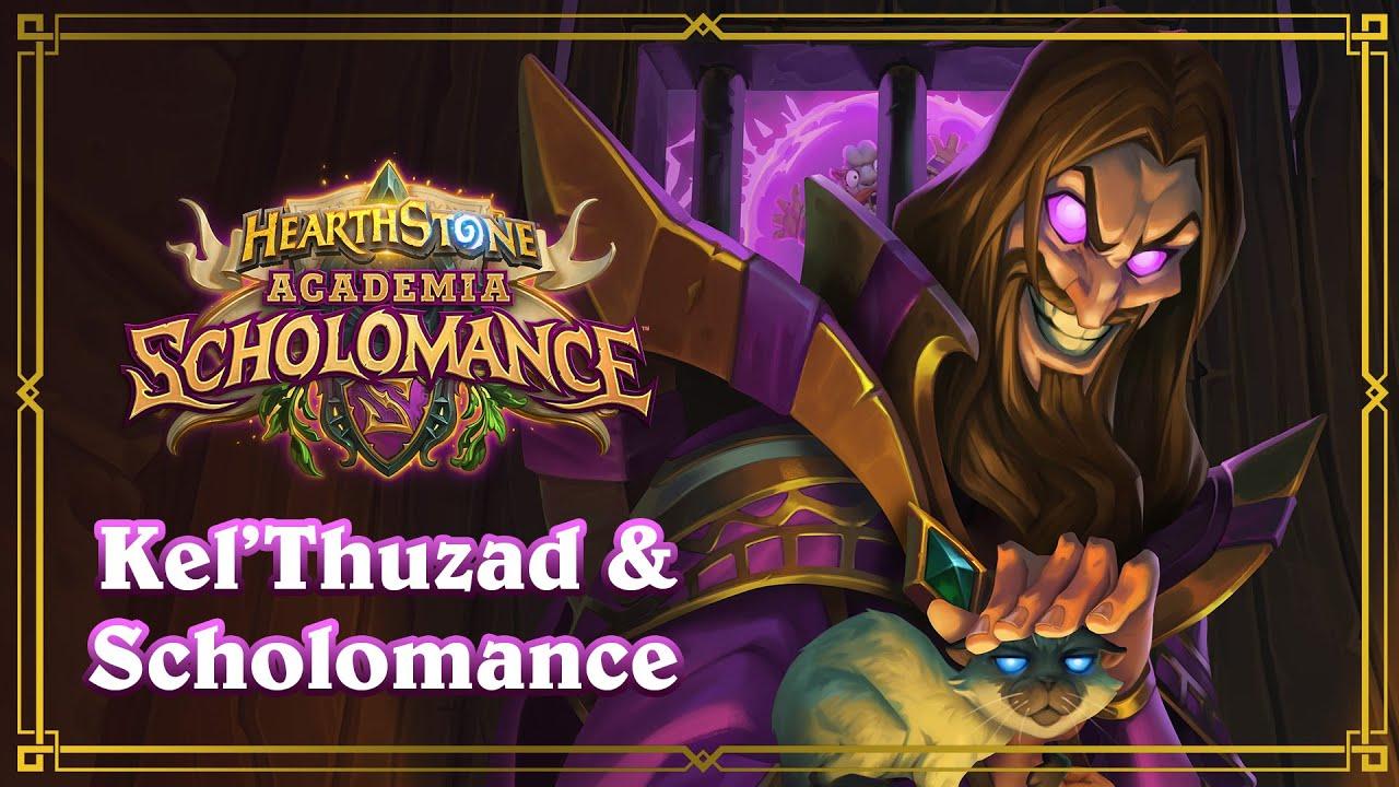 La historia de Kel'Thuzad y Scholomance - Hearthstone