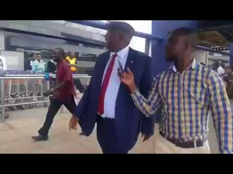 Kasukuwere Returns Back in Zimbabwe