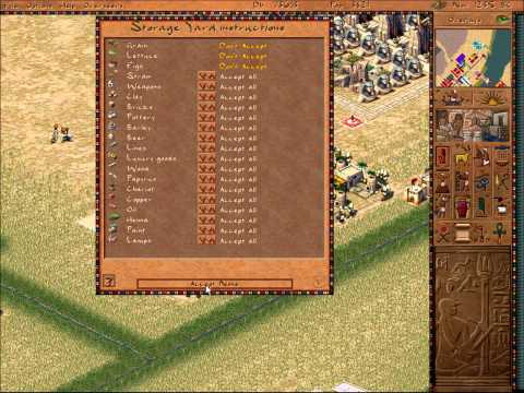Pharaoh Walkthrough: Mission 31 - Ramses in the Valley (Deir El-Medina 4) [2/2]
