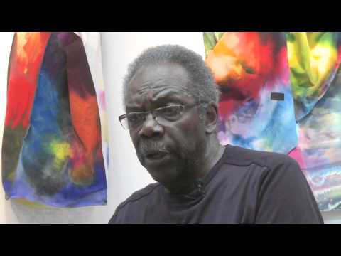 Sam Gilliam's 'From a Model to a Rainbow'
