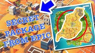 EPIC GAMES SENT US A *SECRET* PACKAGE-FORTNITE SEASON 5...