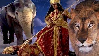 महिषासुर वध ||  कैसे माँ शेरवाली ने किया महिषासुर का वध || BR Chopra SuperHit Hindi Serial || thumbnail