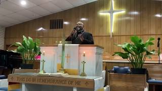 April 19, 2020 Morning Worship Service - China Grove A.M.E. Zion Church