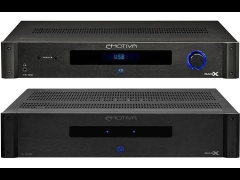 Reviewed: Two Emotiva amps, TA-100 and A-300