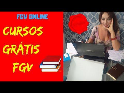 CURSO ONLINE GRÁTIS DA FGV Com Certificado - Cursos Online GRATUITOS Da Fundação Getúlio Vargas