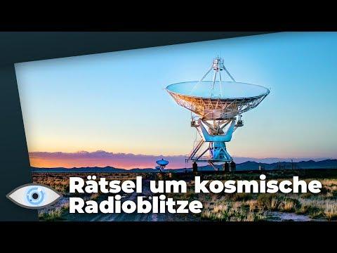 Mysteriöse Signale aus dem All: Wer oder was steckt hinter den periodischen Radioblitzen?