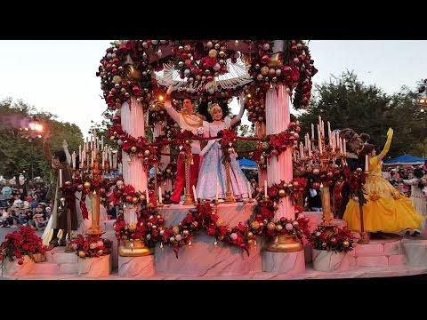 Christmas Parade at Disneyland