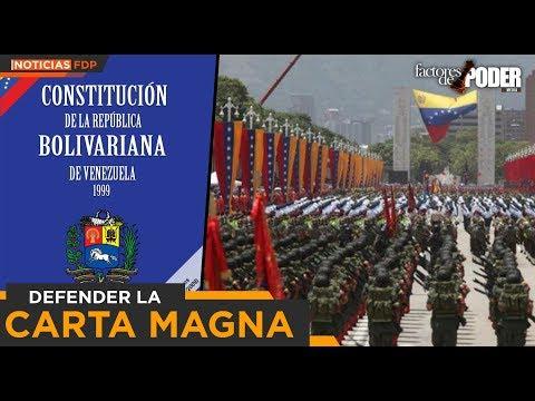 """PATRICIA POLEO: """"LOS MILITARES SON LOS POLICÍAS DE LA CONSTITUCIÓN"""""""