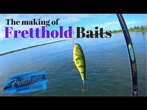 How To Make A Through-wire Fishing Lure - Fretthold Baits