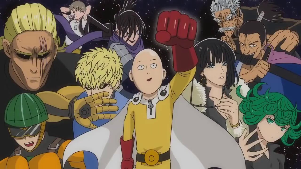 One Punch Man Seasons 2