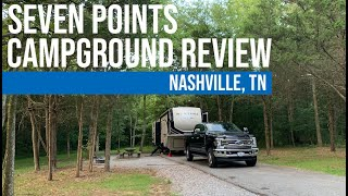 Seven Points Campground // Compreнensive Campground Review // Nashville, TN [EP 28]
