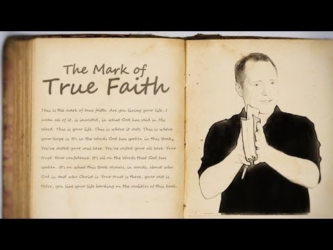 The Mark of True Faith - Tim Conway