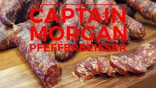 Captain Morgan Pfefferbeißer mit ungarischen Paprika | Grill & Chill / BBQ & Lifestyle
