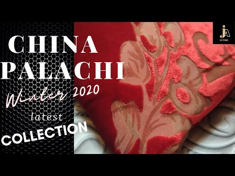 original China palachi  dress design winter collection 2020-21