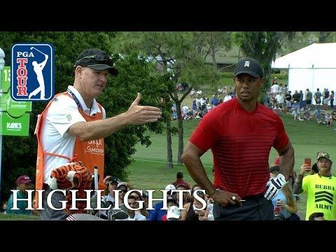 Tiger Woods' highlights | Round 4 | Valspar