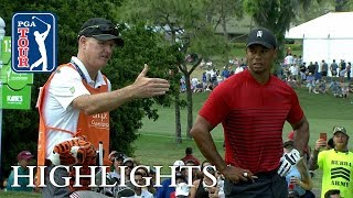 Tiger Woods' highlights | Round 4 | Valspar