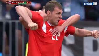 RUSSI vs SAUD AR 5 0 HIGHLIGHTS   WORLD CUP RUSSIA