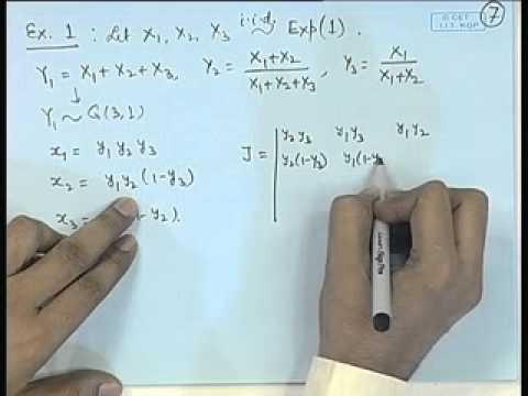 Mod-01 Lec-22 Transformations of Random Vectors