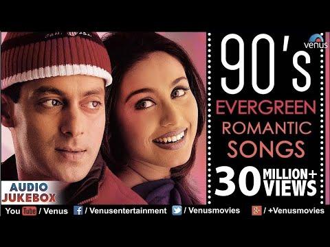 90's Evergreen Romantic Songs   Most Romantic Hindi Songs   Audio Jukebox   Hindi Love Songs