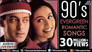 90's Evergreen Romantic Songs  Most Romantic Hindi Songs  Audio Jukebox  Hindi Love Songs