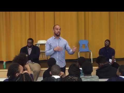 The Talented 6 present at Anton Grdina Elementary School