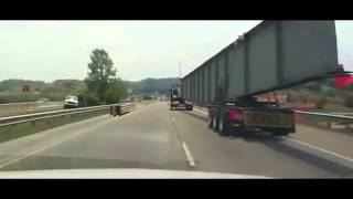 Accident with very large cargo truck