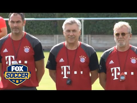 Ancelotti shows off language skills at Bayern