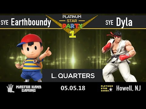 Platinum Star Party 1 - SYE Earthboundy (Ness) vs SYE Dyla  (Ryu, Cloud) - Loser's Quarters