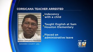 3rd Grade Teacher In Corsicana ISD Arrested For Indecency With A Child