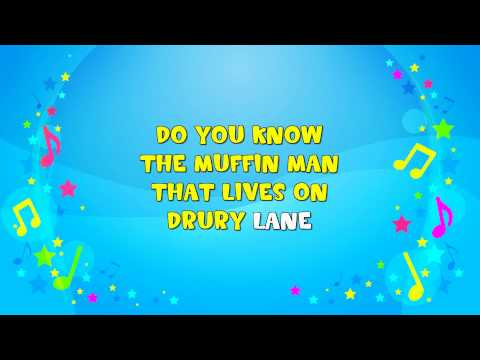 Do You Know the Muffin Man | Sing A Long | Nursery Rhyme | KiddieOK