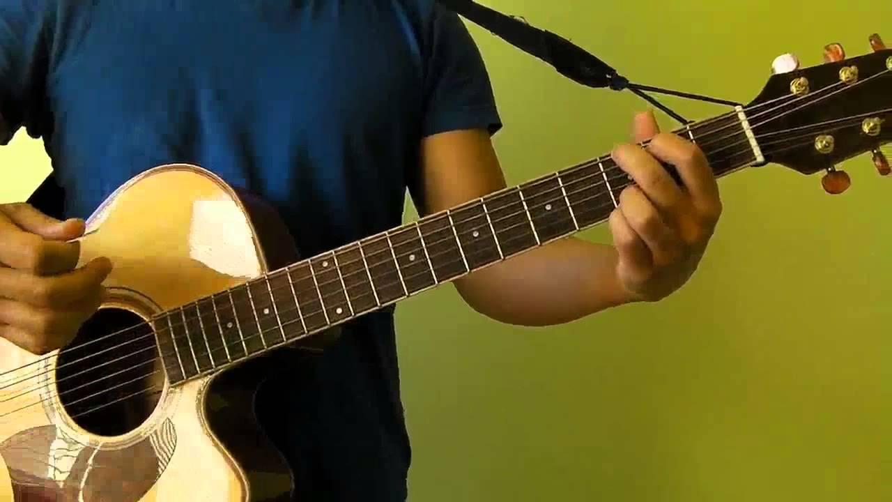 Give Me Love Ed Sheeran Easy Guitar Tutorial No Capo Youtube