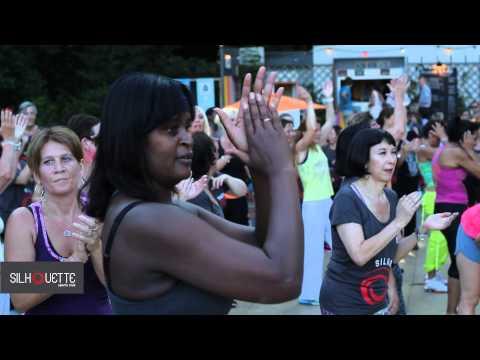 Cours de Zumba en plein air - La Perle du Lac - 15/07/2014