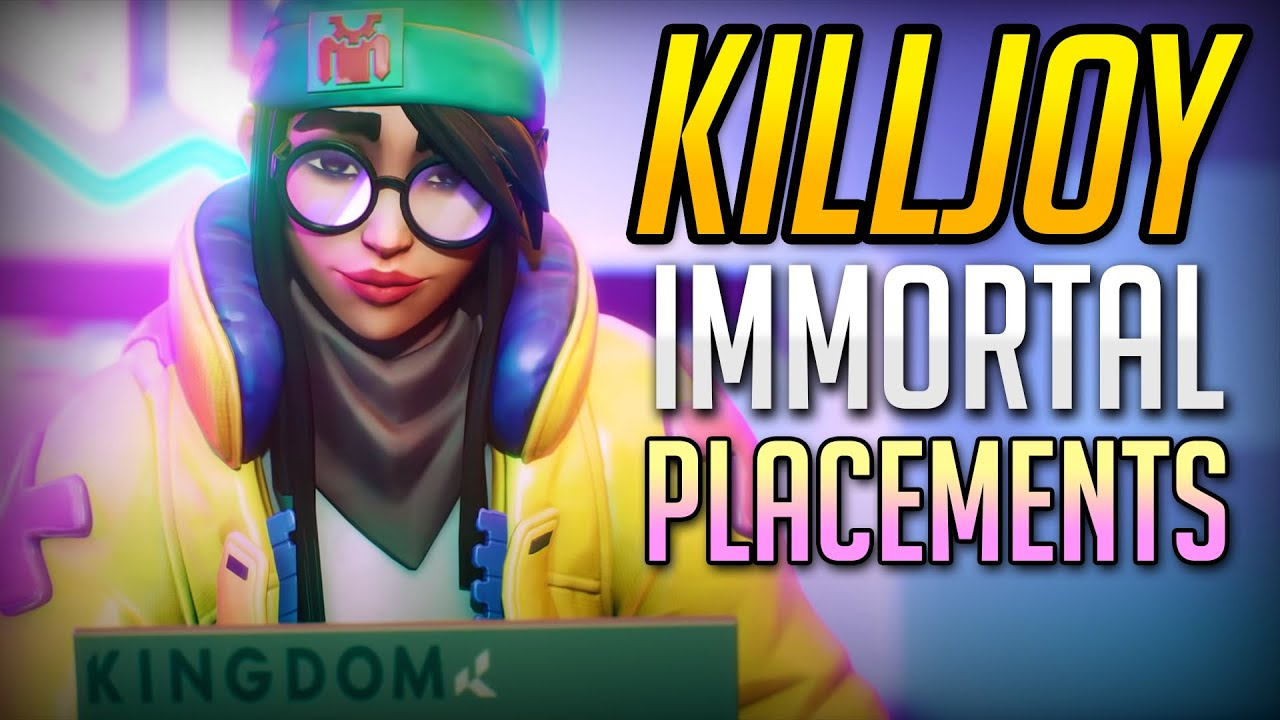 PLACING IMMORTAL W/ KILLJOY! | VALORANT Ranked Competitive Highlights