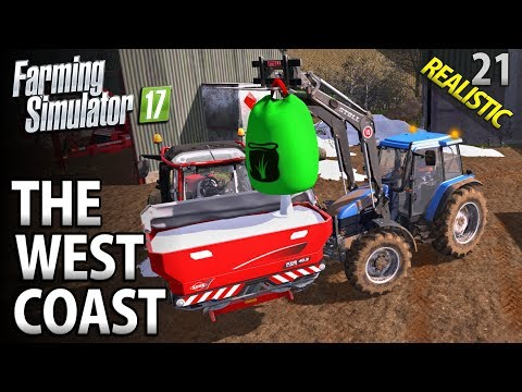 Let's Play Farming Simulator 17 | The West Coast | Episode 21