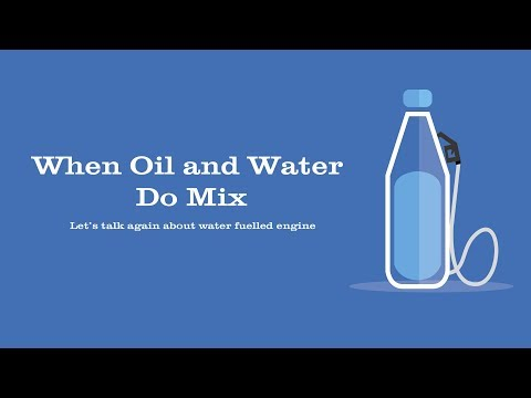 When Oil and Water Do Mix.