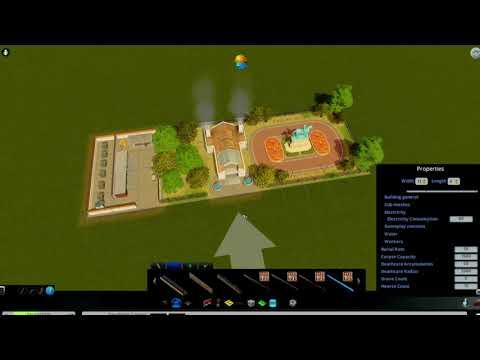 Cities: Skylines - Custom Asset: Advanced Crematorium |