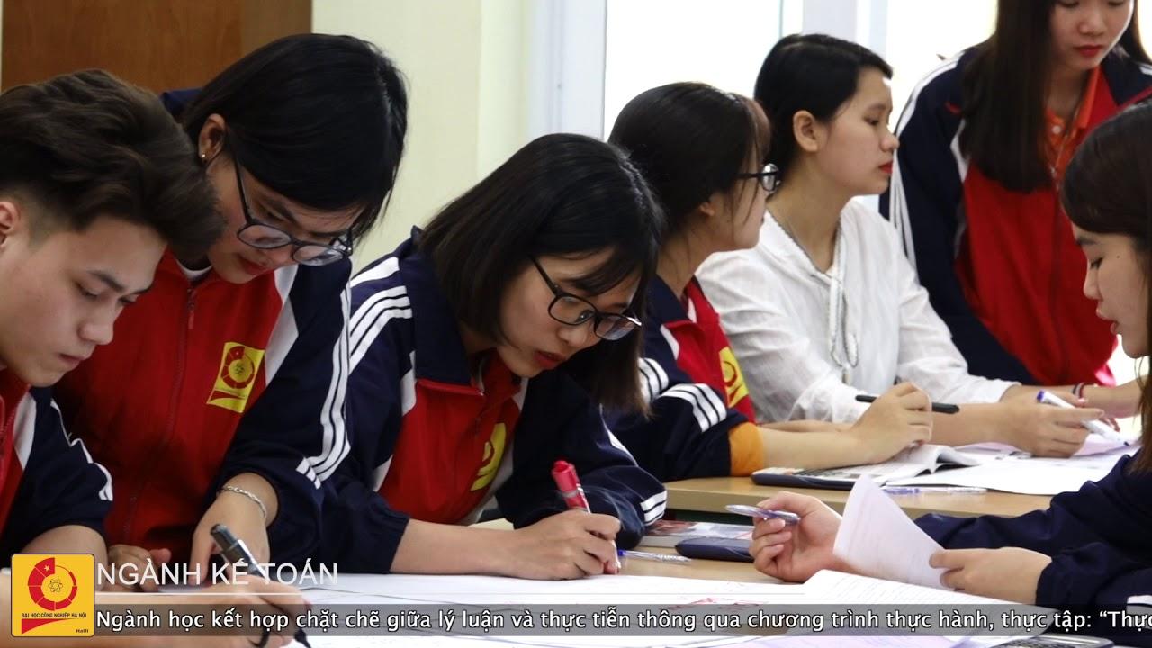 Ngành Kế toán   Đại học Công nghiệp Hà Nội