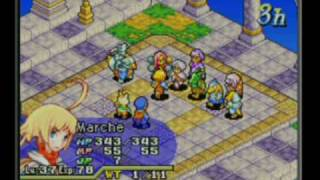 Final Fantasy Tactics Advanced gameplay
