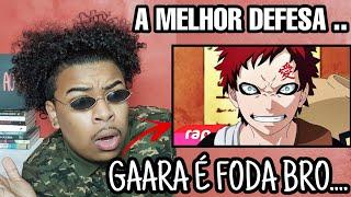 Rap do Gaara (Naruto) - CAIXÃO DE AREIA | NERD HITS (7minutoz)(React)