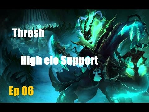 How to carry: Thresh support Platinum elo #6 League of Legends