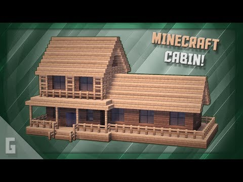 Minecraft: How To Build A Cabin! (#10)