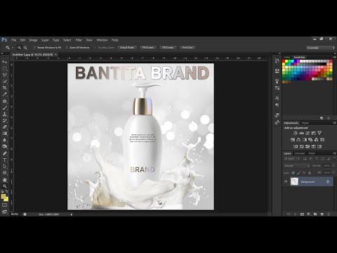 สอนวิธีง่ายๆ แต่งรูปสินค้าให้ดูหรูดูแพงขึ้น ด้วย Photoshop สำหรับใช้โปรโมทในสื่อออนไลน์