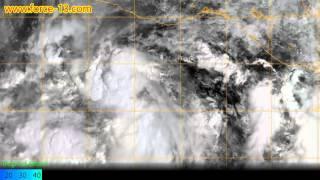Satellite imagery of Hurricane Patricia (October 2015)