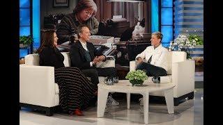 Richard E. Grant Gets a Whiff of Ellen's Scent
